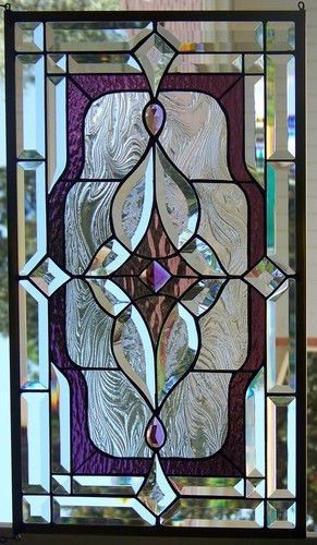 Stained Glass Window Hanging | eBay- this is stunning!