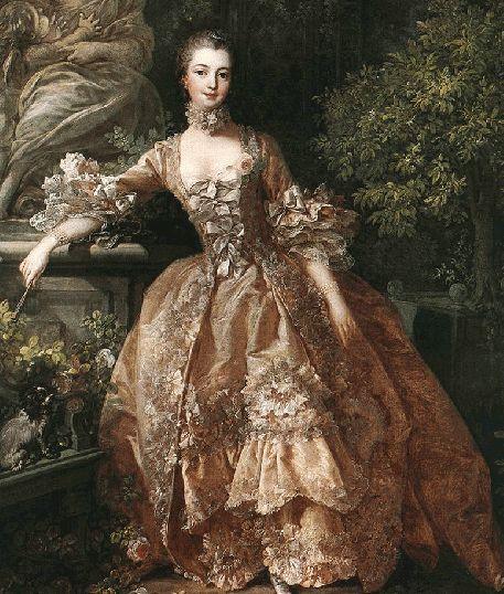 Portrait of Marquise de Pompadour - 1759