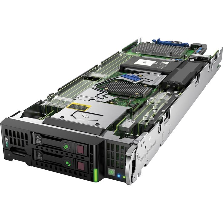 HP ProLiant BL460c G9 Blade Server - 2 x Intel Xeon E5-2640 v4 Deca-c #868024-S01