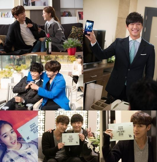 'My Secret Hotel' - BTS photos