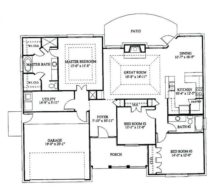 Tyuka Info In 2020 Bungalow Floor Plans House Plan With Loft House Plans