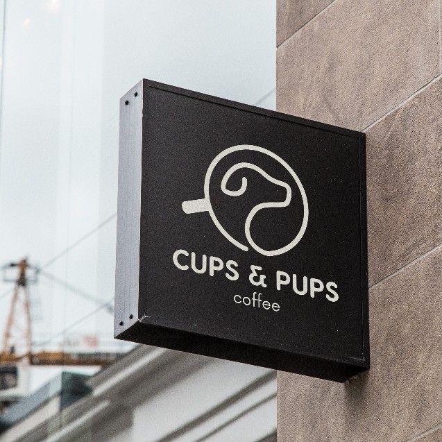 Design a minimalist logo for dog friendly coffee shop by ★ Mario Yan ★