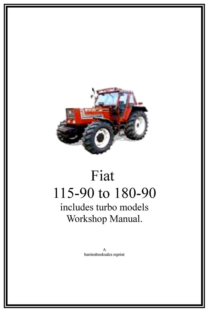Fiat tractors manuals to download