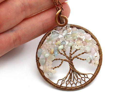 Árbol de la vida collar colgante árbol de la vida por KittenUmka