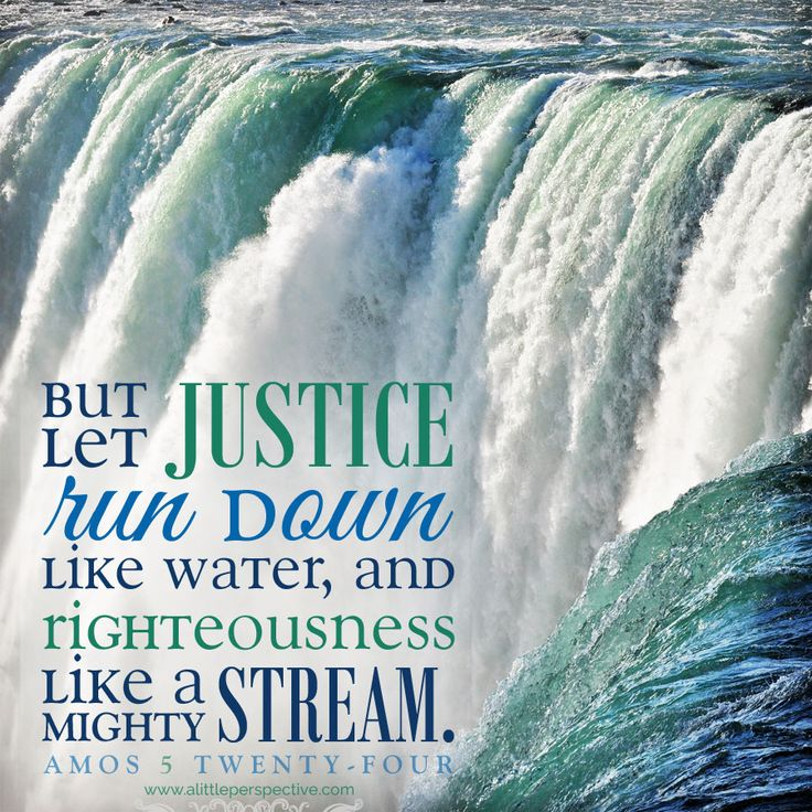 a biblical definition and perspective of the righteousness of justice Amos 5:24, 'let justice roll on like a river, righteousness like a never-failing  the  intensity of the meaning of justice grows steadily in the old testament until it is   cited in perspectives on the world christian movement, 2009, pasadena.