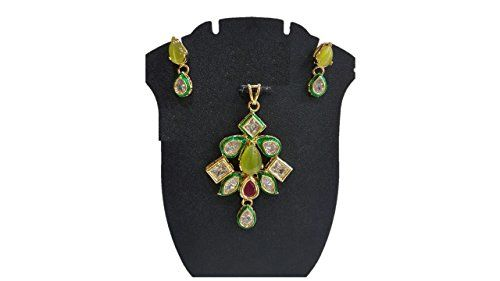 Yellow & Green Stone Indian Bollywood Style Gold Plated K... https://www.amazon.com/dp/B01N4WV96M/ref=cm_sw_r_pi_dp_x_.0RMybKFR5QJH
