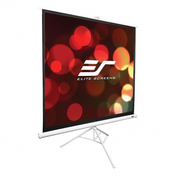 Elite screens tripod series 71 in diagonal portable