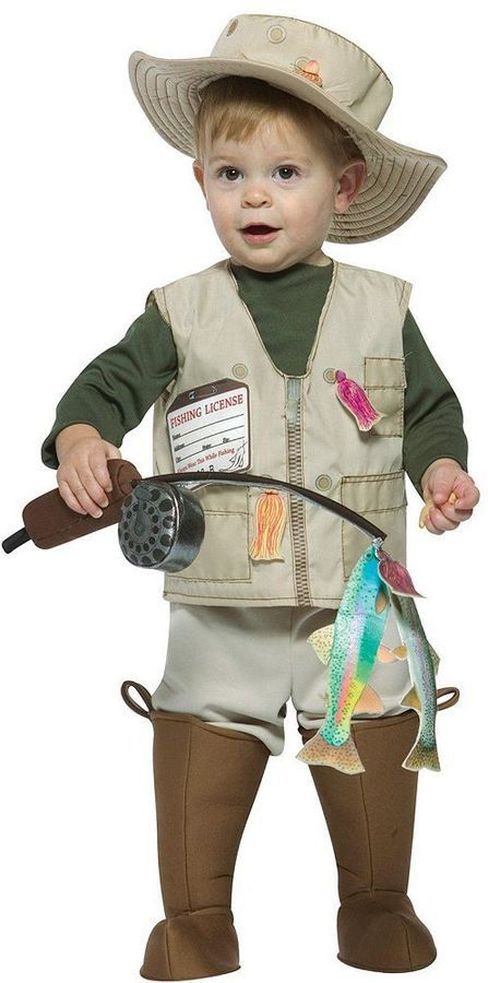 Pin for Later: 169 Warm Halloween Costume Ideas That Won't Leave Your Kids Freezing Future Fisherman Costume Future Fisherman Costume ($40)