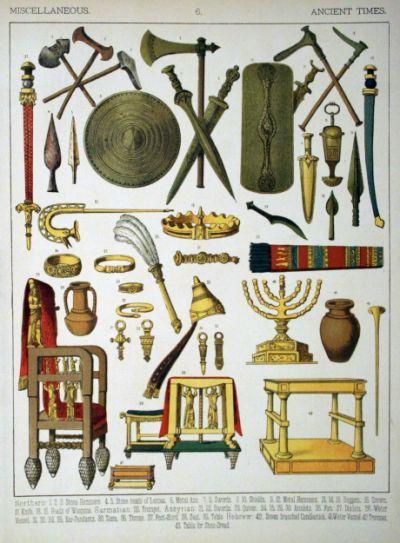 Description Ancient Times, Misc.