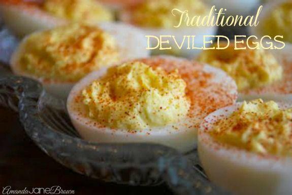 Traditional #DeviledEGGs