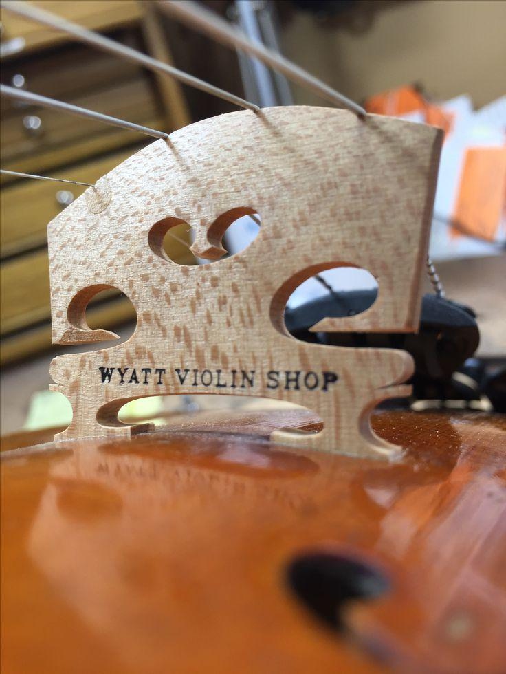 Wyatt Violin Shop violin bridge