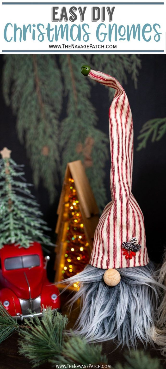 Easy DIY Christmas Gnomes in 2020 (With images) Easy