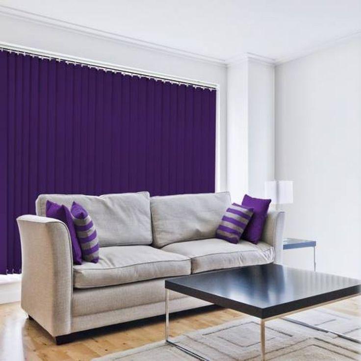 blue vertical blinds in abu dhabi & dubai for office window & home