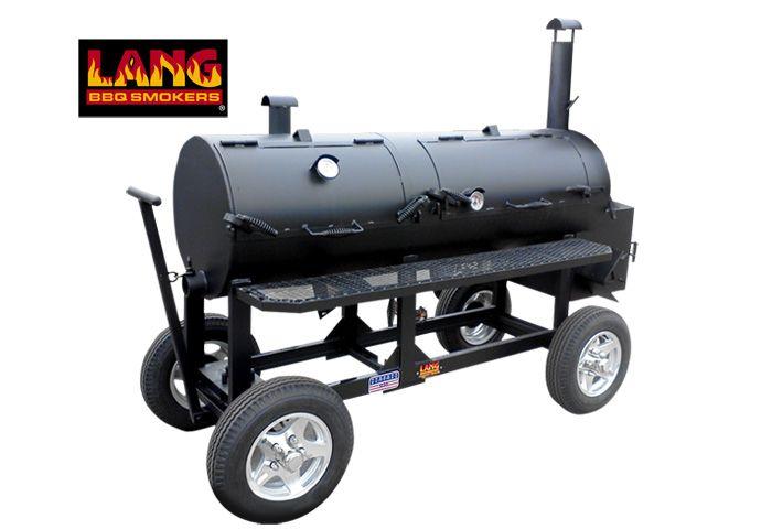 """48"""" Hybrid Patio Lang Smoker Cooker"""
