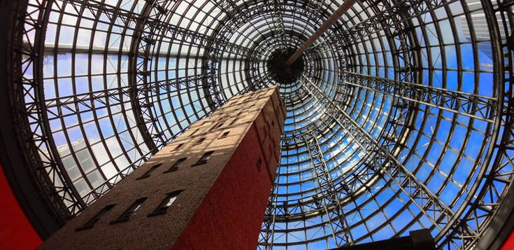 Shot Tower, dentro de un centro comercial en Melbourne - http://www.absolutaustralia.com/shot-tower-dentro-de-un-centro-comercial-en-melbourne/