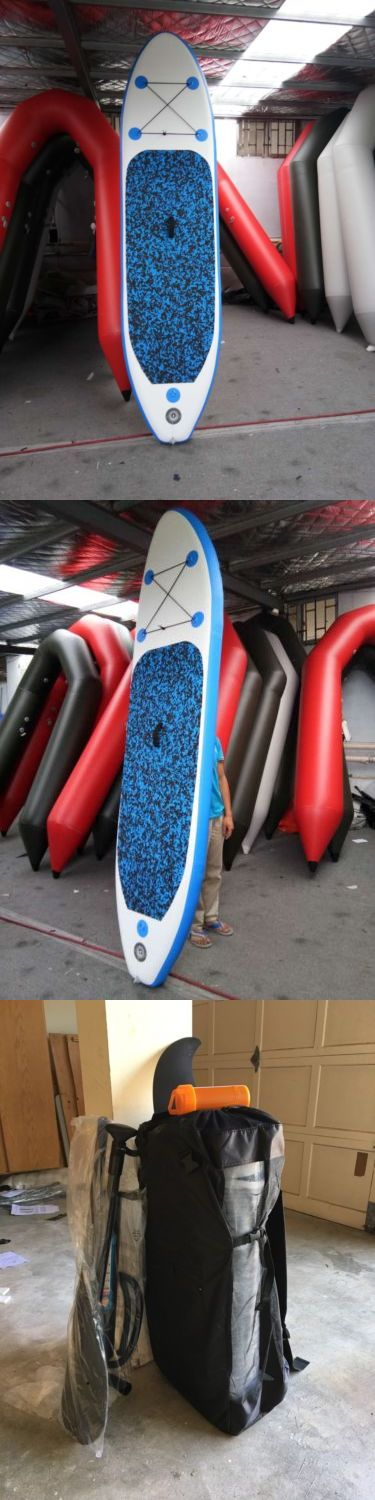 Stand Up Paddleboards 177504: 10 Feet High Quality Inflatable Sup Paddle Board -> BUY IT NOW ONLY: $299 on eBay!
