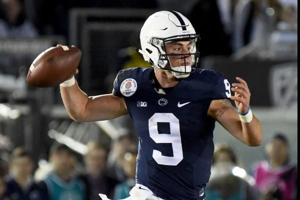 Trace McSorley completed a 7-yard pass to Juwan Johnson on the game's final play and No. 4 Penn State defeated Iowa 21-19 on Saturday night…