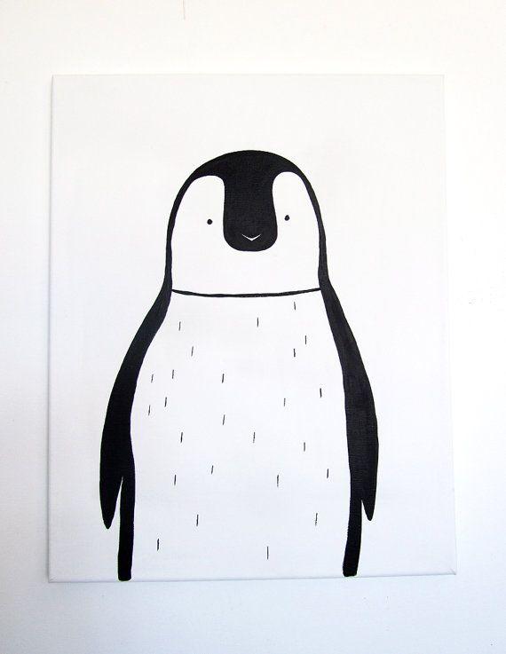 No 0011  Modern Kids and Nursery Art Original by adrianeduckworth, $75.00