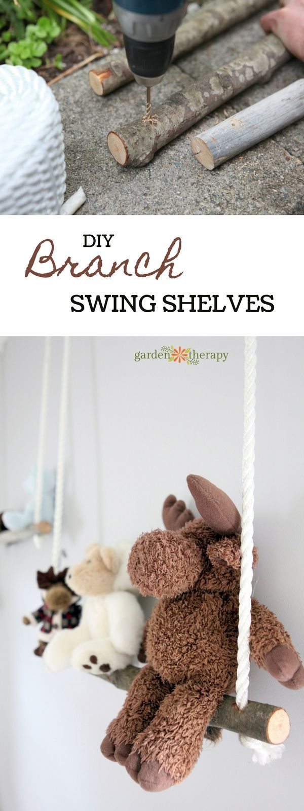 Branch Swing Shelves