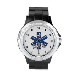 Paramedic EMS Star of Life Watches