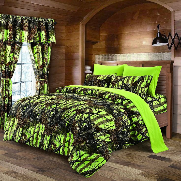 Kids Camo Bedding Boys Comforter Sets Girls Sheets Adults Teens Bedroom Curtain Product Description: Get Ready to Immerse yourself in Regal Comfort Comforter and sheet set. Get lost in your extremely
