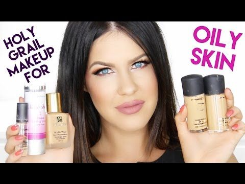 Holy Grail Products For Oily Skin That I've Used Up & WOULD Repurchase! | Product Empties - YouTube