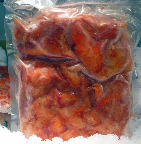 lobster claw and knuckle meat wild caught product of canada lobster claw and knuckle meat, cooked, product of canada, 2 LBS, frozen