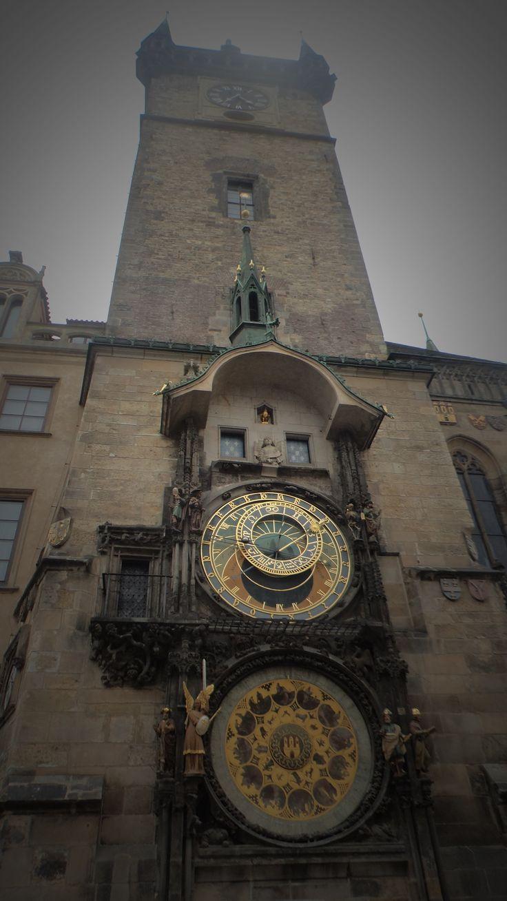 The astronomical clock tower  prague