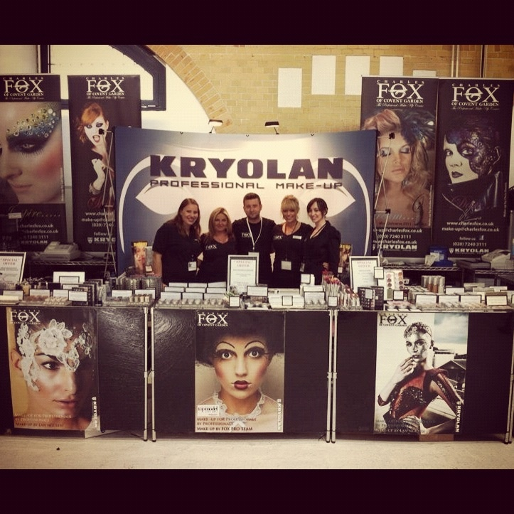 The Charles Fox team of MUAs, ready for action in Berlin