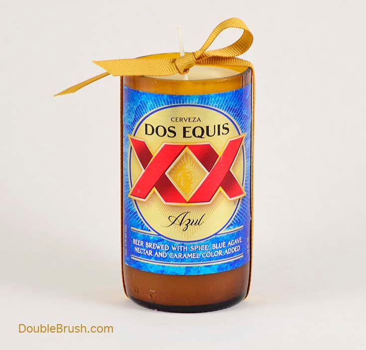 The perfect Mexican beer theme gift to add some authentic beer decor with the flavor of Mexico. Dos Equis Azul Beer is a Mexican beer brewed with spice and blue agave nectar for a refreshing authentic