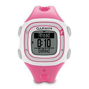 Reloj Garmin Forerunner 10, ideal para feminas, sencillo con GPS, controla de velocidad, las calorías que quemas y la distancia que recorres. Color en fucsia brillante y plata mate en sus acabados. www.relojes-especiales.net #fucsia #rosa #digital #relojes