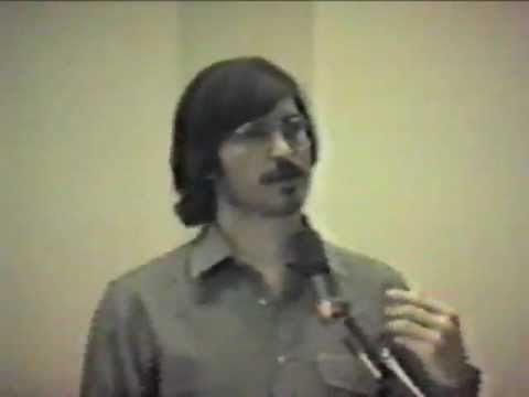 Steve Jobs presentation at Insanely Great (1980) when Steve was 25