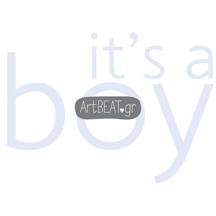 Baptism invitation 2017 - It's a boy