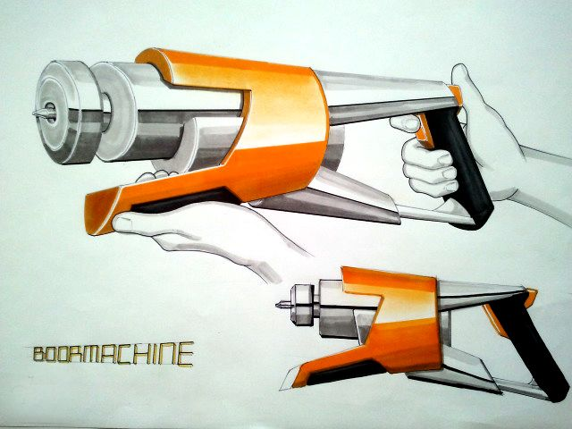 Power Drill design by ~Jullian1990 on deviantART