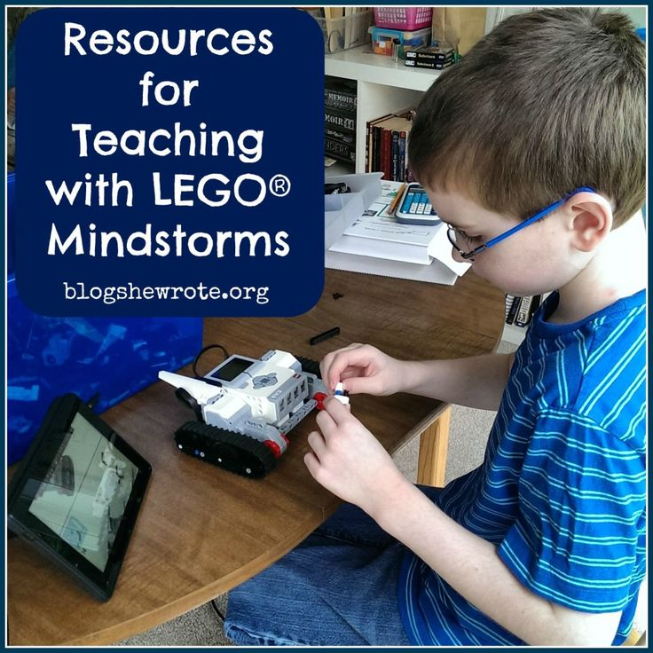 Resources for Teaching with LEGO® Mindstorms - a treasure trove of resources!