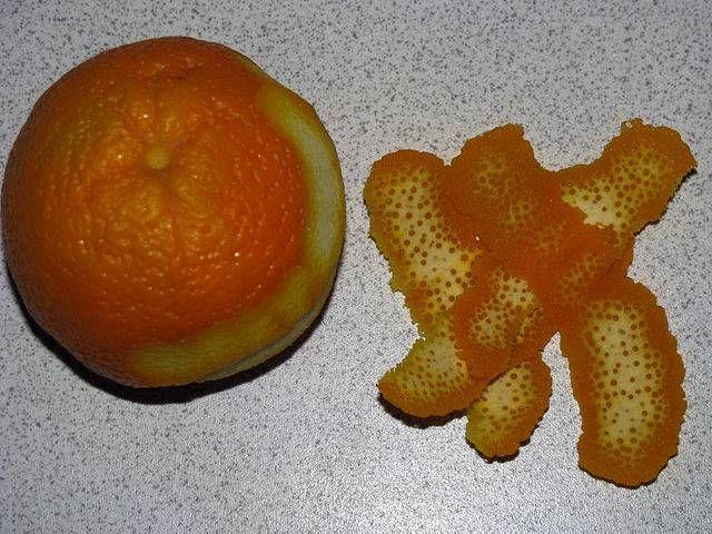 limpiador de vinagre y naranja