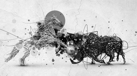 Order vs chaos art