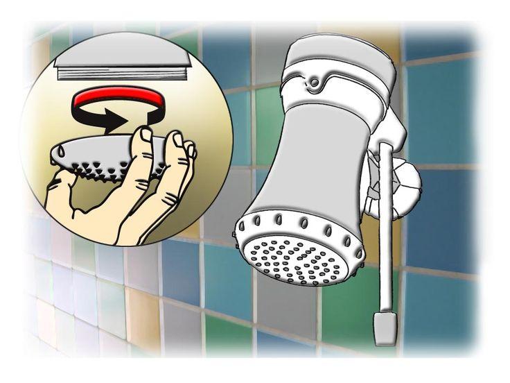 Manutenção de duchas e chuveiros