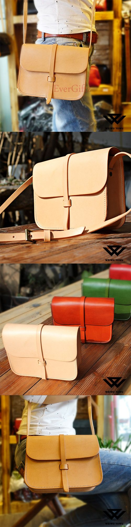 Handmade leather vintage women stachel bag shoulder bag crossbody bag
