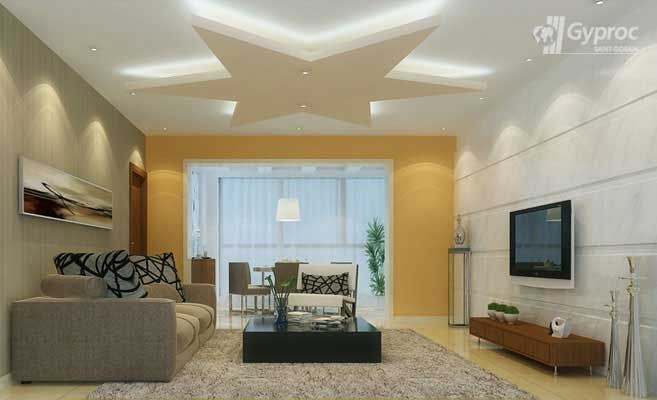 False Ceiling Drywall Saint Gobain Gyproc India Ceiling Design Bedroom False Ceiling