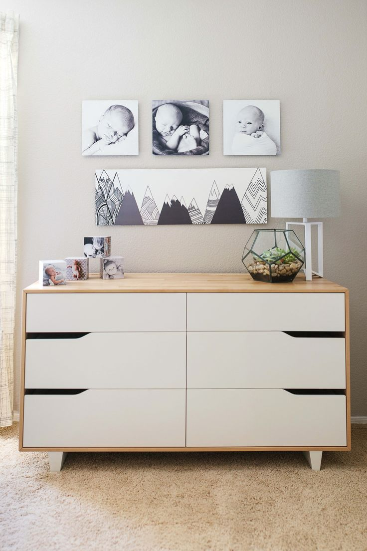 Guest blogger Rennai showed off this nursery reveal featuring Shutterfly metal wall art using the Design-a-Wall template. We love how it turned out! Follow Kim of @tomkatstudio