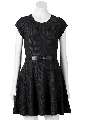 Black dress kohls credit