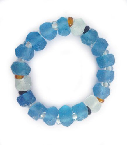 Dalia Blue Bracelet | Indigo Heart - Fair Trade Fashion