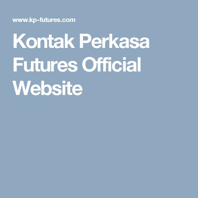 Kontak Perkasa Futures Official Website