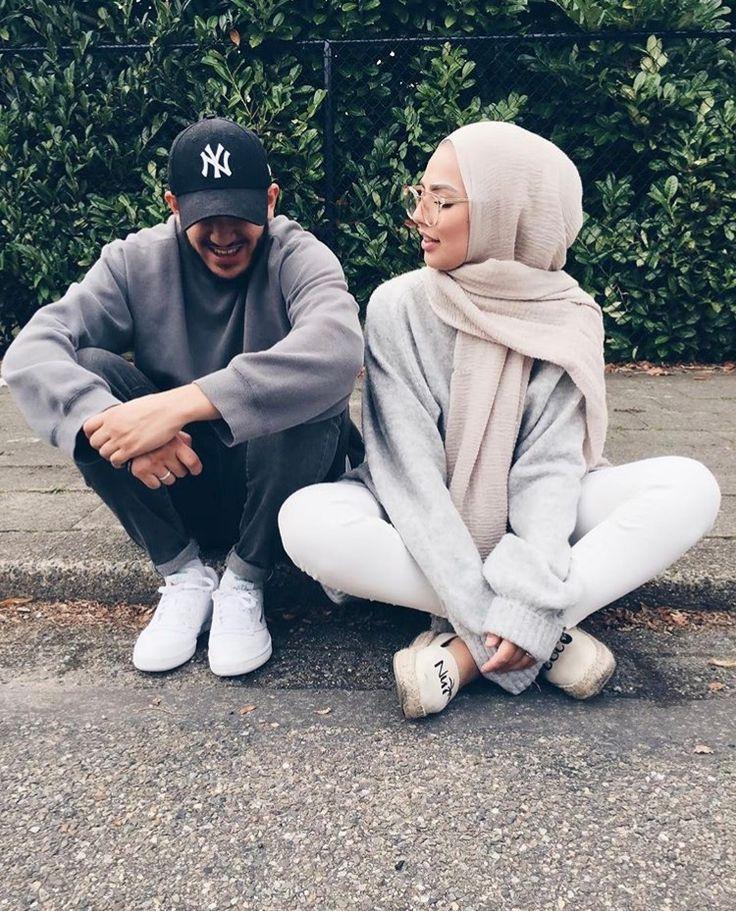 Hijab + Jus Chillin + Cozy Gray Knits (sauf.etc)