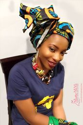 Head Wraps for Women, African head wraps, Ankara head wraps, head wraps, African fabric head wraps - Lily