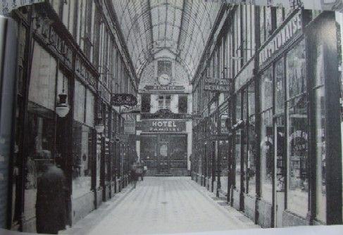old photo in paris
