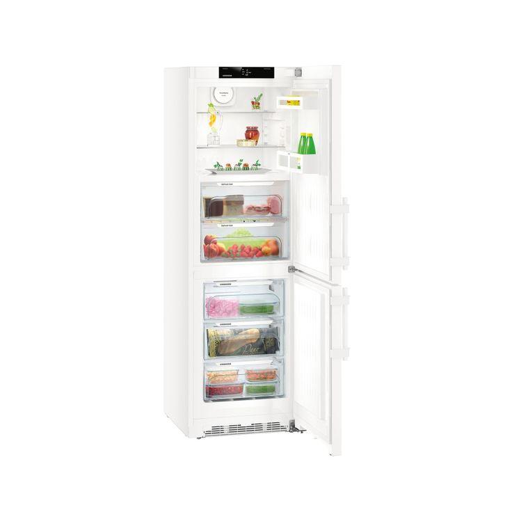 LIEBHERR CB 4315 - BluPerformance, Comfort, A+++ , objem chladničky 110 l., BioFresh 94 l., objem mrazničky 115 l., 3 zásuvky, ventilátor, bílá.