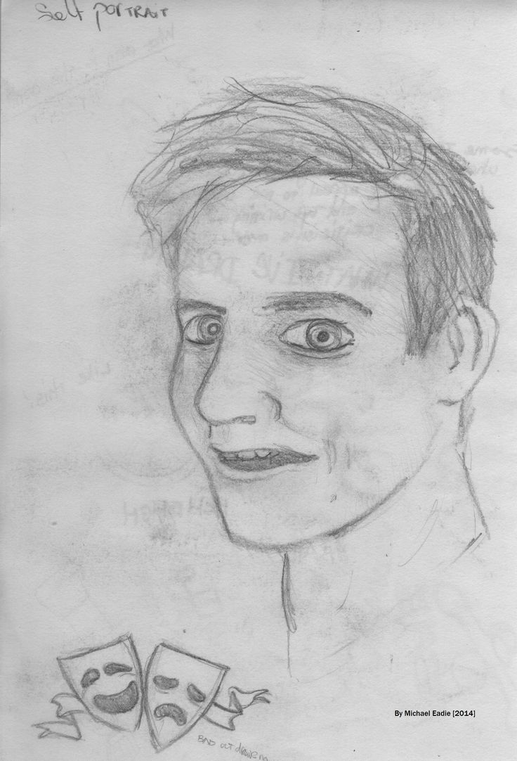 An attempt at a self-portrait from my head