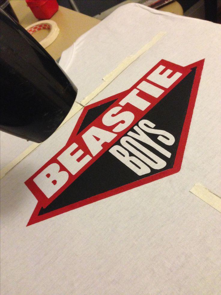"""""""Beastie Boys"""" Diseño y Estampado en Serigrafía. BRUGGE Diseño y Producción."""